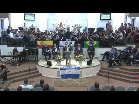 Orquestra Sinfônica Celebração - Harpa Cristã | Nº 65 | Quem irá? - 14 04 2019