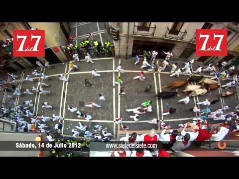Encierro 14 de Julio 2012 - Torrehandilla Torreherberos