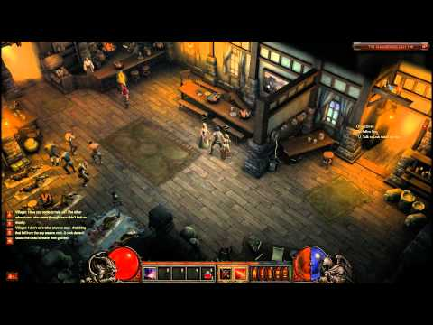 Diablo 3 Beta - Demon Hunter Playthrough Part 1