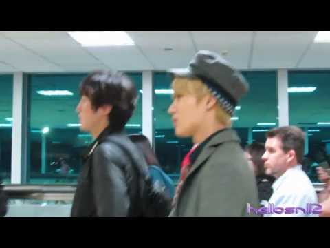 130423 SHINee Taemin Arrival@Immigration of Taiwan Taoyuan International Airport