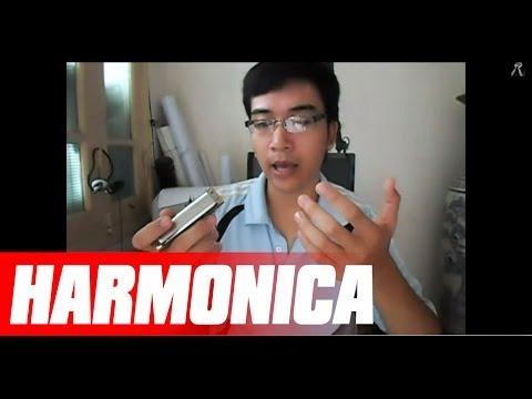 Bài 3 - Cách cầm Harmonica, tư thế ngồi, chơi đơn nốt