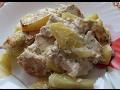 Картошка с курицей запеченная в духовке. Диетический рецепт!