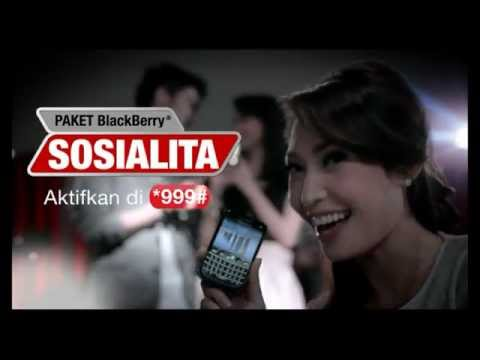 simPATI 'BlackBerry Sosialita' Komersial