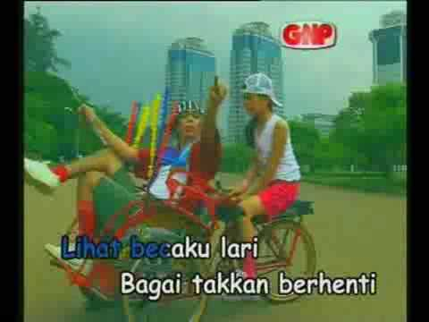 Lagu Anak indonesia  Lidya Lau & Rio Baskoro Hai Becak.mp4