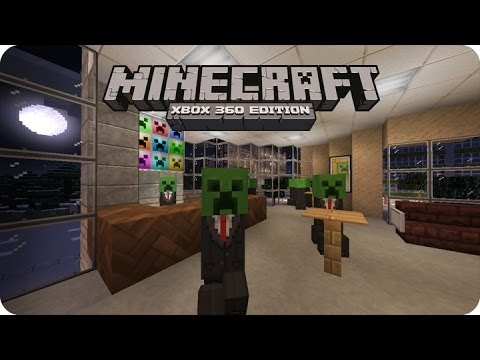 MineCraft Xbox360 - Review The City Texture Pack