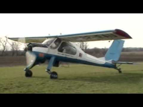 PZL Wilga Aircraft Airplane Extreme STOL Landing