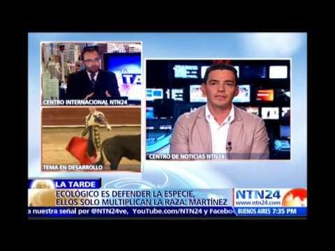 Cesar Rincón debate la conveniencia de que vuelvan las corridas de toros a Bogotá