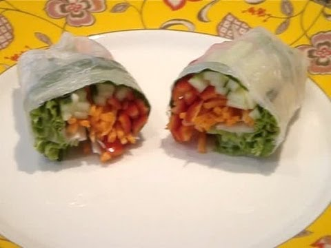 How to Make Summer Rolls (Spring Rolls)