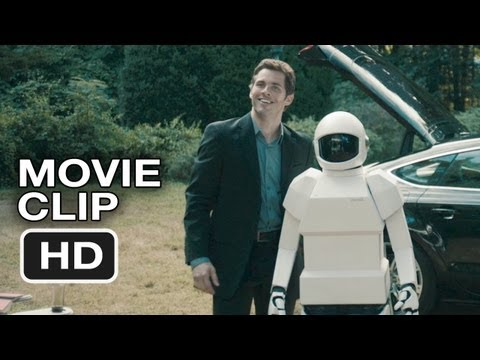 Robot and Frank Movie CLIP - New Robot (2012) - Frank Langella, Susan Sarandon Movie HD