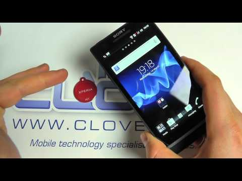 Sony Xperia S & Sony Xperia SmartTag Demo