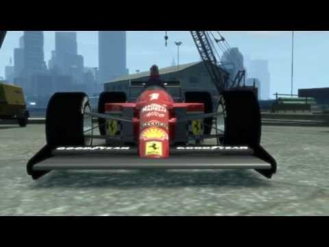 GTA IV PC - Ferrari Formula 1 Mod!