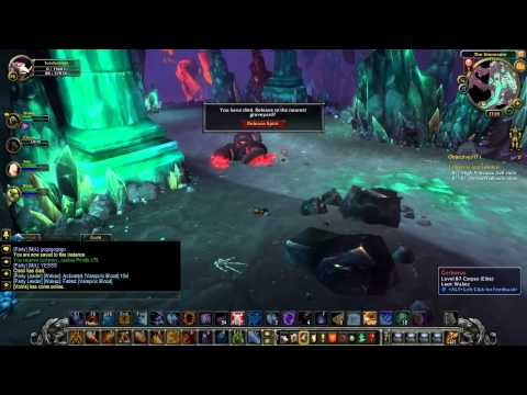 WoW Cataclysm Guide - Heroic Stonecore Part 1