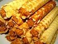 Вкусно - Вафельные #ТРУБОЧКИ со Сгущенкой Выпечка #Рецепт