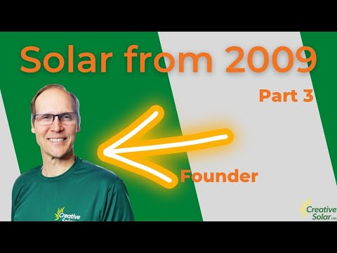 N. Georgia Mtns Off-grid Solar Array / PV Install 3 of 3