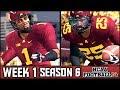 NCAA Football 14 Dynasty: Week 1 vs Memphis - Season 6 Kickoff!
