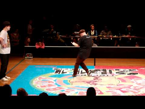 Wartecs vs. Lau @ Juste Debout 2011, Finland, Top Rock Final