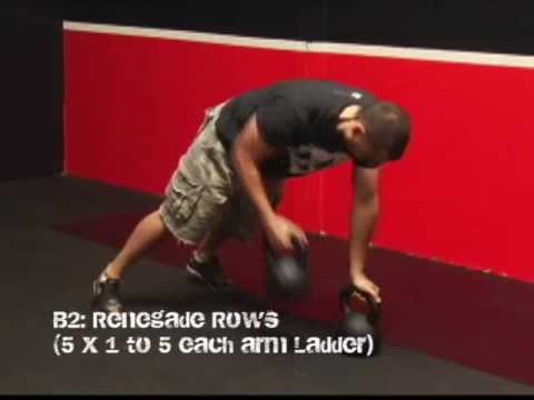 Kettlebell Strength & Conditioning Ladder Workout