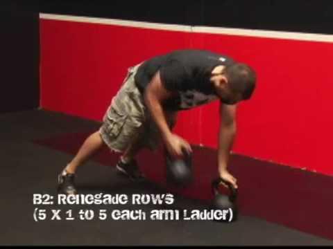 Kettlebell Strength & Conditioning Ladder Workout