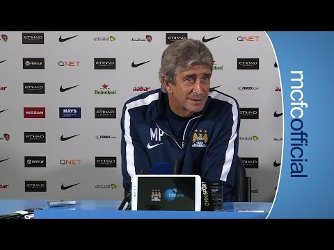 MY PLAYERS ARE THE BEST   City v Liverpool Manuel Pellegrini Preview Part 2