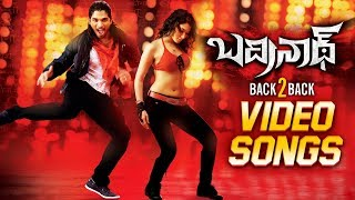 Badrinath Movie Back To Back Video Songs