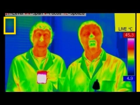 I Didn't Know That - Infrared Camera: Refrigerator