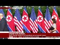 Фрагмент с середины видео A historic moment: Trump and Kim shake hands- BBC News