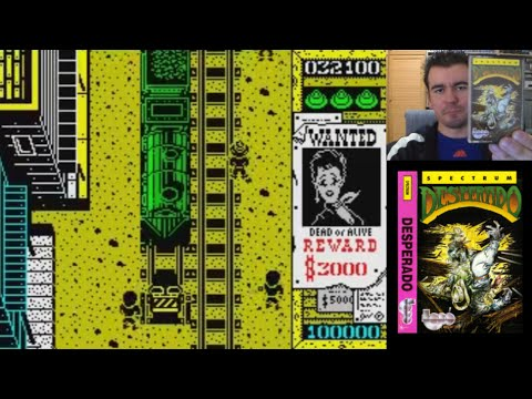 Memorias Spectrumeras 35 - DESPERADO (ZX Spectrum, Topo Soft) || Análisis / Review en Español