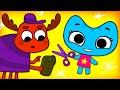 Котики, вперед! - Королевский наряд / 37-я серия / развивающие мультфильмы для детей