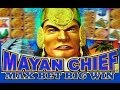 Mayan Chief - MAX BET! - Slot Machine Bonus - BIG WIN!