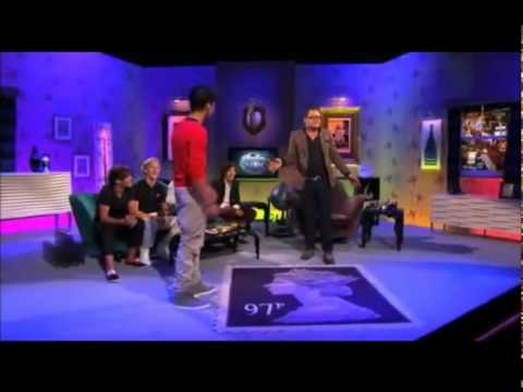 Zayn Malik dancing on Alan Carr Show