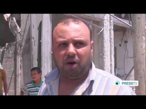 (Israeli) fire on Rafah raises war crimes claim  9/1/14