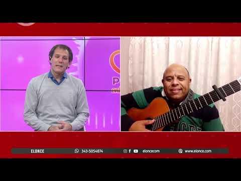 """Diego Irriatia, integrante de """"Los del Suquía"""" cantó en vivo por Elonce TV"""