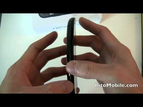 Google (Samsung) Nexus S unboxing and hardware tour (Android 2.3 Gingerbread)