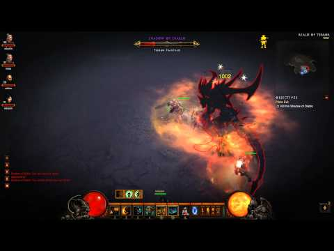 Diablo III: Act 4 Final Boss Battle - Diablo