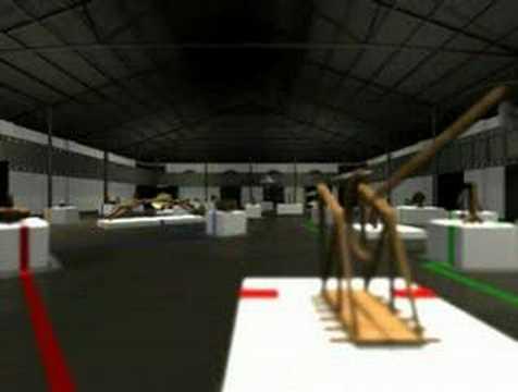 Le Macchine di Leonardo - progetto di allestimento