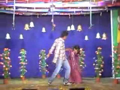 Andhra village stage record dance
