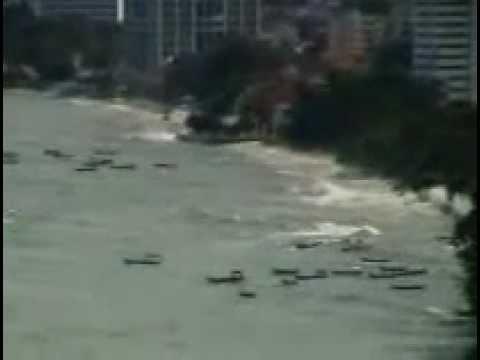 Tsunami In Malaysia - Penang 11.04.2012 new video