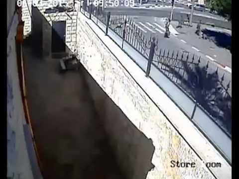 ينشر مقطع لعملية الدهس الاخيرة في القدس المحتلة شاهد بالفيديو: الاحتلال الاسرائيلي