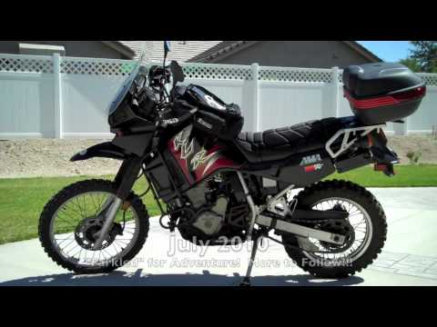 KLR 650 - My Kawasaki Adventure Motorcycle!