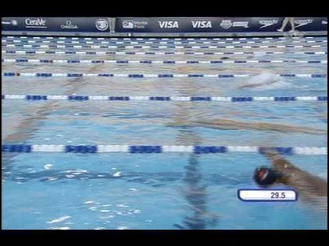 2010 Mutual of Omaha Pan Pacific Championships Michael Phelps 100m Butterfly