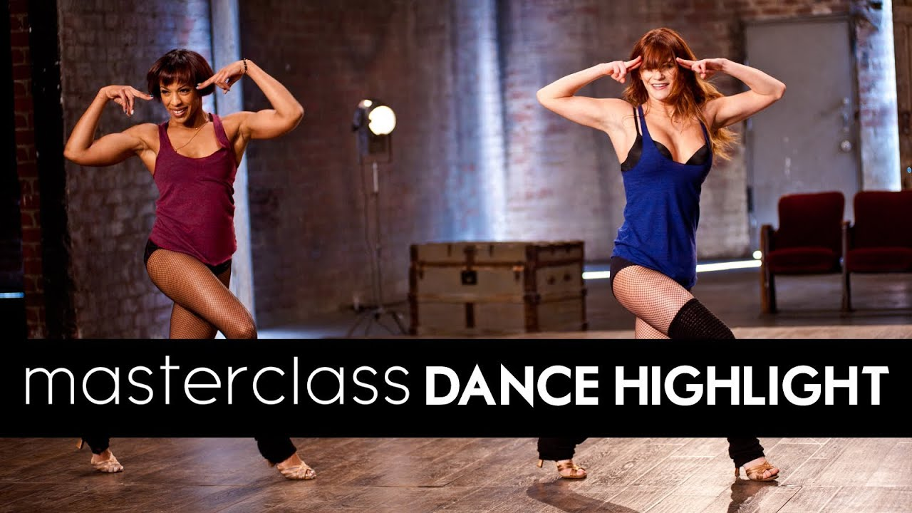LEARN TO DANCE:  Marguerite Derricks's AUSTIN POWERS Masterclass Routine [DS2DIO]