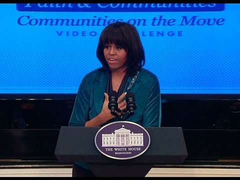 Let's Move! Faith and Community Challenge Winners (Michelle Obama) 3/7/13