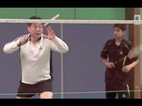 Badminton-How to return flick service best possible way