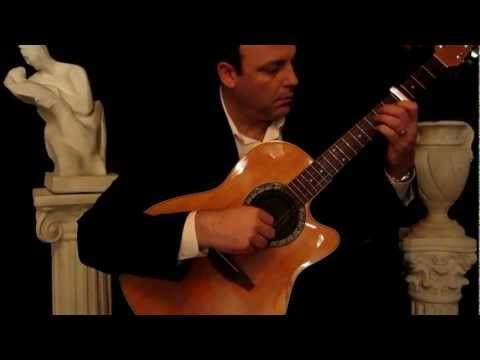 Guitar Solo, Romantic Instrumental Guitar Music Video Angelina by ALDO