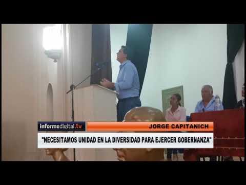 <b>Jorge Capitanich en Paraná.</b> &quot;No podemos juntarnos con los traidores&quot;
