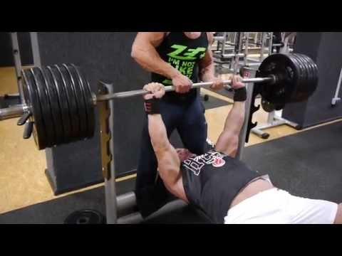 Bench Press 230kg / 507 lbs RAW - UCZUxZ6CqV65KenLAVskFy-g