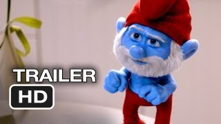Smurfs 2 TRAILER (2013) - Hank Azaria Animated Movie HD
