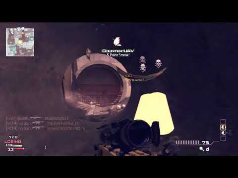 AMAZING MW3 SNIPER FEED BARRET  (MUST WATCH)