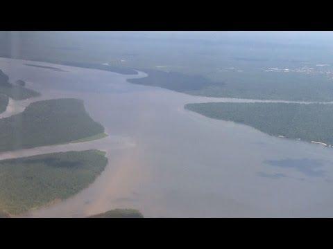 Amazonia vista desde el cielo