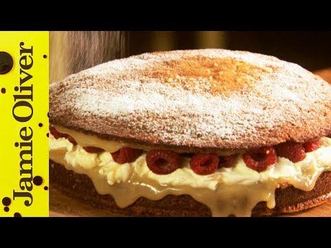 Super Simple Sponge Cake | Jamie Oliver